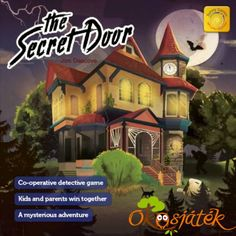 Passage Secret, Games For Kids, Angeles, Adventure, House Styles, Movie Posters, Painting, Puzzle, Tips