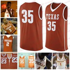 2019 Texas Longhorns 4 Mohamed Mo Bamba 1 Andrew Jones 21 Dylan Osetkowski Custom  Stitched Any Name Number College Basketball Jersey From Cheap1688 f0fa227fe