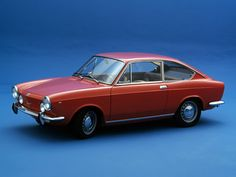 Five Things You Should Know About Sporty Coupes Fiat 850, Fiat 500 Models, Vintage Cars, Antique Cars, Automobile, 1960s Cars, Fiat Cars, Pretty Cars, Motor Scooters