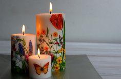 Cómo hacer velas decoradas para darle a tu hogar un toque bello y armónico.