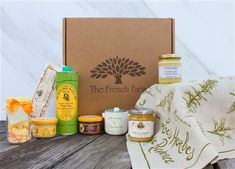 The Provence gift box is filled with the best of Provence, providing your taste buds with a tour that doesn't require a passport.