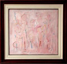 GEORGE ISO, Roots and Stones - Acrílico sobre tela - 69x75 cm - ACID E VERSO 97