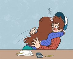 Pinecest comics - Comic 1 - Page 2 - Wattpad Gravity Falls Dipper, Gravity Falls Fan Art, Gravity Falls Comics, Dipper X Mabel, Mabel Pines, Dipper Pines, Jagodibuja Comics, Pinecest, Drawing Anime Clothes