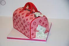 Motivtorte/Cake - Louis Vuitton Handbag, pink   MakeUrCake