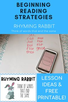 Are you teaching a child to read and looking for information on beginning reading strategies? Check out this post on the readind strategy Skippy Frog. It contains lots of teaching tips and free printables! Reading Resources, Reading Strategies, Teaching Tools, Teaching Kids, Teaching Reading, Preschool Lessons, Preschool Crafts, Preschool Ideas, Beginning Reading