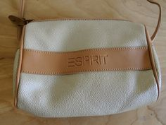 Tan Leather 90s Crossbody by Esprit by altastyles on Etsy, $20.00