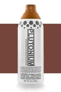 Georgia Clay Professional Spray Paint. Get full coverage in just one coat with the best spray paint for furniture, DIYs, crafts and more. Plutonium dries in 3-5 minutes with a hard, durable, satin finish. It is mold resistant with interchangeable pro caps. Higher pigment perfect for any brown spray paint project. Take a look at our georgia clay spray paint for any of your home improvement and home decor spray paint projects. #plutoniumpaint #spraypaintDIYs #spraypaintcolors #brownspraypaint Spray Paint Crafts, Spray Paint Artwork, Best Spray Paint, Spray Paint Projects, Spray Paint Furniture, Spray Painting, Craft Projects, Metallic Spray Paint Colors, Black Spray Paint