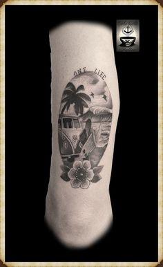 Resultado de imagen para tattoo de surf