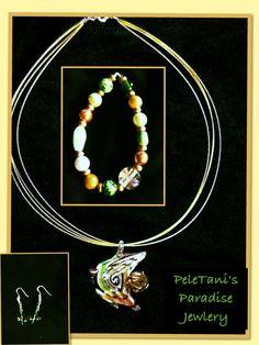 On Sale On EBay/ Poshmark/ OfferUp.  PeleTani's Paradise Jewelry.