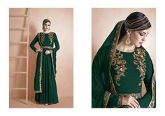 http://www.thatsend.com/shopping/lp/fvp/TESG182500/i/TE241426/iu/green-georgette-designer-salwar-kameez  Green Georgette Designer Salwar Kameez Apparel Pattern Embroidered. Stiching Type Unstitched. Work Embroidery. Bottom Color Green. Dupatta Work Border Lace.