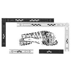 """Made to rigid FBI specifications, the """"Bureau"""" scale set contains a 15cm x 30cm L-Shaped scale and a 15cm straight scale. The scale set provides maximum contrast by featuring black markings on a white background on one side and white markings on a black background on the reverse. Alternating black and white bands provide an excellent visual reference from a distance and crosshairs at each end provide a means for checking and correcting perspective distortion. The L-shaped scale is rigid and…"""