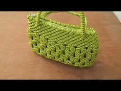 How to make macrame purse # design 15 - YouTube