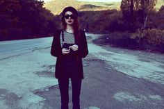 09.10.2012 (by Violet E.) http://lookbook.nu/look/4767205-Denim-Overall-Shirt-Sweater-Hat-Ray%20Ban-Sunglasses