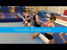 Flexibility & Execution - YouTube Gymnastics Lessons, Gymnastics Room, Preschool Gymnastics, Gymnastics Tricks, Tumbling Gymnastics, Gymnastics Flexibility, Gymnastics Coaching, Acrobatic Gymnastics, Gymnastics Workout