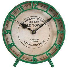Avari Green Table Clock -