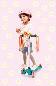 #microscooters #getthelook #accessories #scooters #daisies #hearts #ribbons