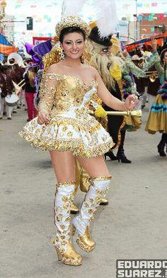 China Morena, carnaval de oruro, Bolivia