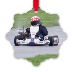 Racin' In The Rain Ornament