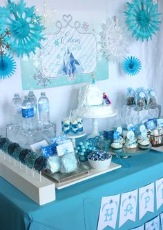 Wants and Wishes Party printables — Frozen party printables Elsa's Ice Castle Collection