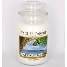 Bougie parfumée grande jarre COCONUT BAY Yankee Candle exclu US