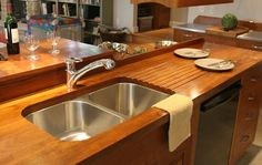 Custom Wood Countertops, Kitchen Island Tops, Butcher Blocks, and Tables by DeVos Custom Woodworking