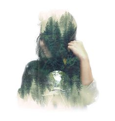 Double exposure #photoshop