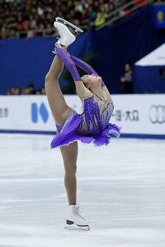 Ziquan Zhao of China Ladies free skate Cup of China  2015
