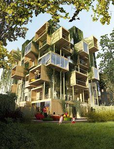 Mit Plug-in City 75 erweitert Malka gerade ein Mietshaus aus den 1970ern, energetische Sanierung inklusive. (Foto: Stéphane Malka)
