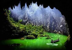 The Yingxi corridor in stone peaks, China