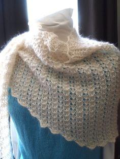 A Simple Wrap Hand Knitting Pattern Wrap Pattern by KnitChicGrace