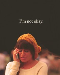 It's okay not to feel okay sometimes. You don't need therapy; just solid people there to listen.