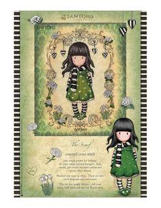Photo Santoro London, Swirls, Cross Stitch, Diagram, It Is Finished, Simple, Prints, Color, Punto De Cruz