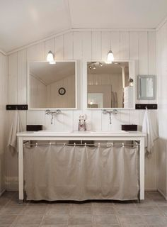 You Could 2 Shower Curtains Of The Same Design Window Be Made From Excess Cut Off Sink Skirting