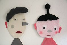 Fabric Faces by Sabine Timm