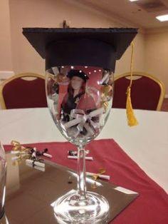 Copas Decoradas para Graduaciones ¡Mucha Creatividad!