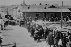 70 years ago, Soviet soldiers liberated the Nazi concentration camp at Auschwitz. Photos, provided by the United States Holocaust Museum, are a powerful reminder of this human tragedy. Going to gas chambers Historical Sites, Historical Photos, Historical Society, Lest We Forget, Persecution, World History, World War Two, Wwii, Images
