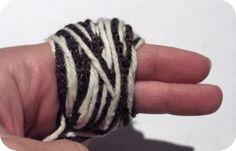Igel - hedgehog pompom craft (from Zakka Life)