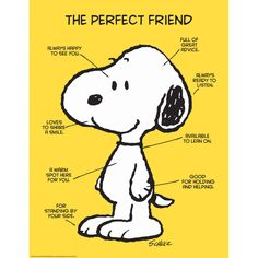 """Peanuts Quotes On Friendship and Eureka Classroom Posters, Measures: """" X """" - Peanuts The Perfect Friend Snoopy Classroom, Classroom Posters, Classroom Themes, Classroom Signs, School Posters, School Classroom, Snoopy Love, Snoopy And Woodstock, Charlie Brown Und Snoopy"""