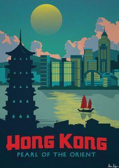 Alex247 Art print Hong Kong