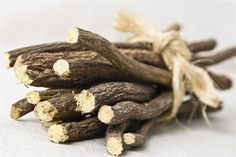 Licorice Root: Chew a sliced piece or steep in tea to hydrate, soothe and brighten skin. It also helps reduce the appearance of age spots. Aids in digestion and is a remover of addictions (food, booze, smoke, negative thoughts)