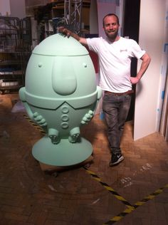Scrumty  A large character for marketing Gloucester  This is to be produced in fibreglass as a run of 20 and art worked by various artists