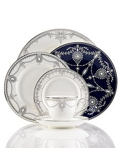 Marchesa by Lenox Dinnerware, Empire Pearl Collection - Fine China - Dining & Entertaining - Macy's
