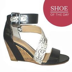 Shoe of the Day: Expression Rupee Strappy Wedge Sandal http://www.thebay.com/eng/shoes-newarrivals-Rupee_Strappy_wedge_sandal-thebay/291568