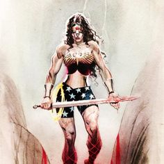 Wonder Woman by Andrew C. Robinson