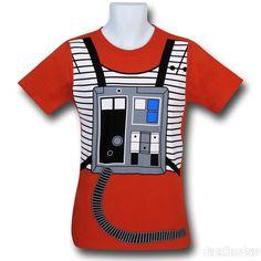 Star Wars Luke's Flight Suit 30 Single T-Shirt
