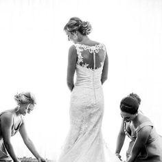 Justin Alexander 8596 (Back) - Ellie's Bridal Boutique (Alexandria, VA)