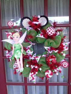 Christmas Disney Tinkerbell Crazyboutdeco Lime by CrazyboutDeco, $99.00