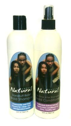 Natural Sheen Braid Shampoo & Conditioner by Natural Sheen. $9.95