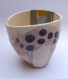 Large vessel, slipped terracotta © Linda Styles Ceramics 2014