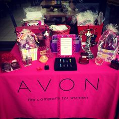 Great way to display your avon products